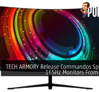 TECH ARMORY Release Commandos Spectrum 165Hz Monitors From RM499 27