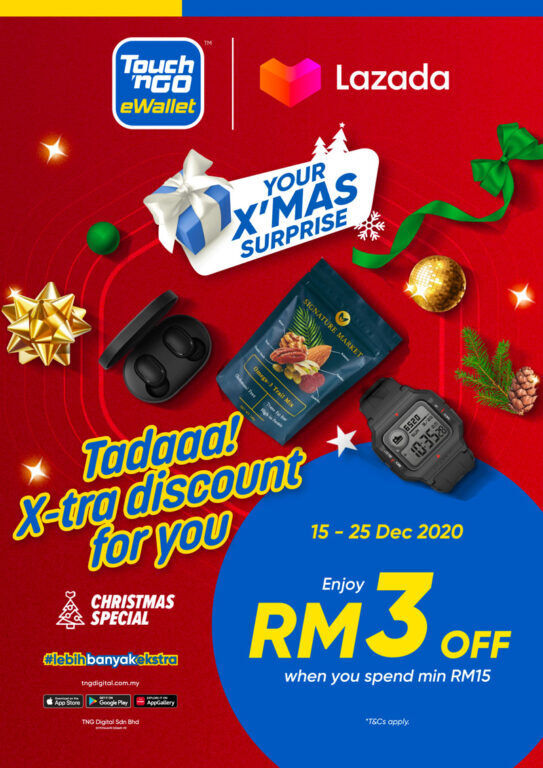 Enjoy Savings With Your Touch 'n Go eWallet This Christmas 20