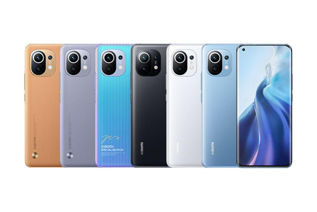 Xiaomi Mi 11 colors