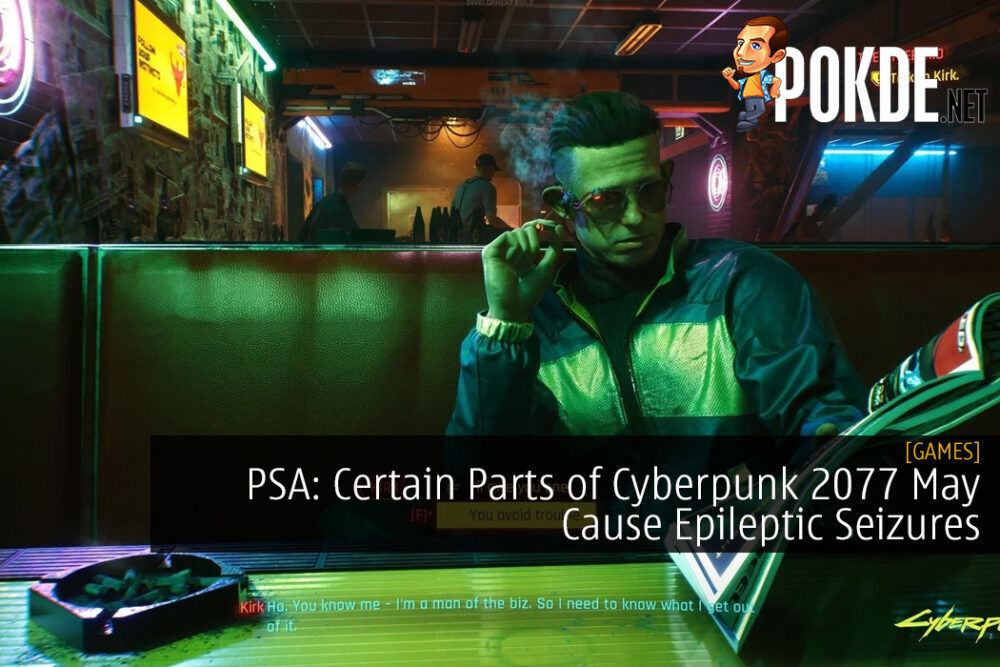 PSA: Certain Parts of Cyberpunk 2077 May Cause Epileptic Seizures