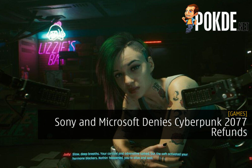 Sony and Microsoft Denies Cyberpunk 2077 Refunds