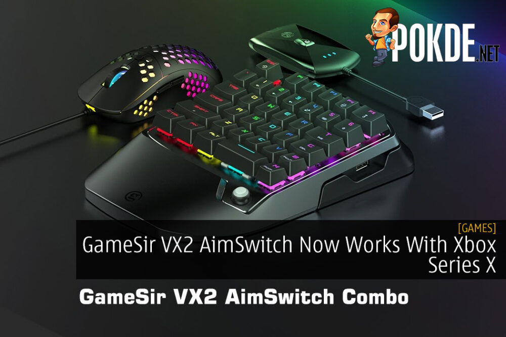 GameSir VX2 AimSwitch Now Works With Xbox Series X - Here's a Tutorial For It