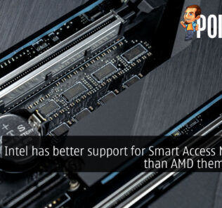 Intel has better support for Smart Access Memory than AMD themselves? 28