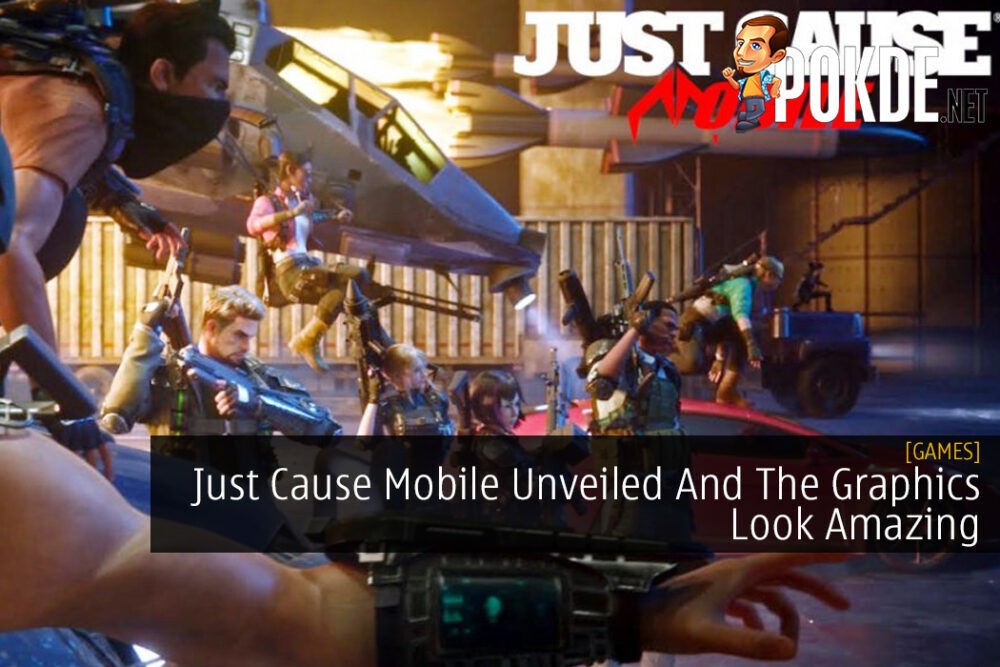 Just Cause Mobile Unveiled And The Graphics Look Amazing