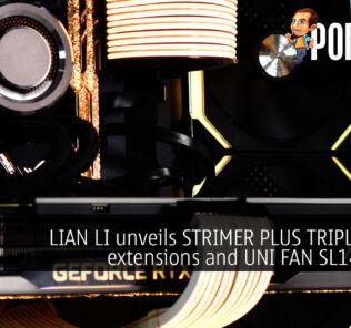 lian li strimer plus triple 8 pin uni fan sl140 cover
