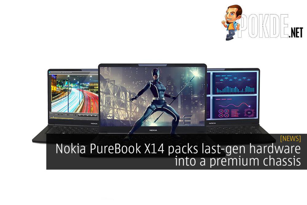 nokia purebook x14 last-gen hardware premium chassis cover