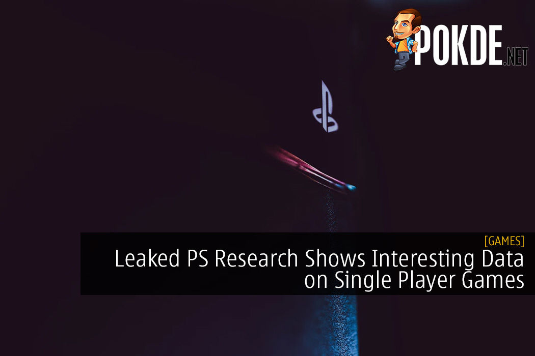 Leaked PlayStation Research Shows Interesting Data on Single Player Games