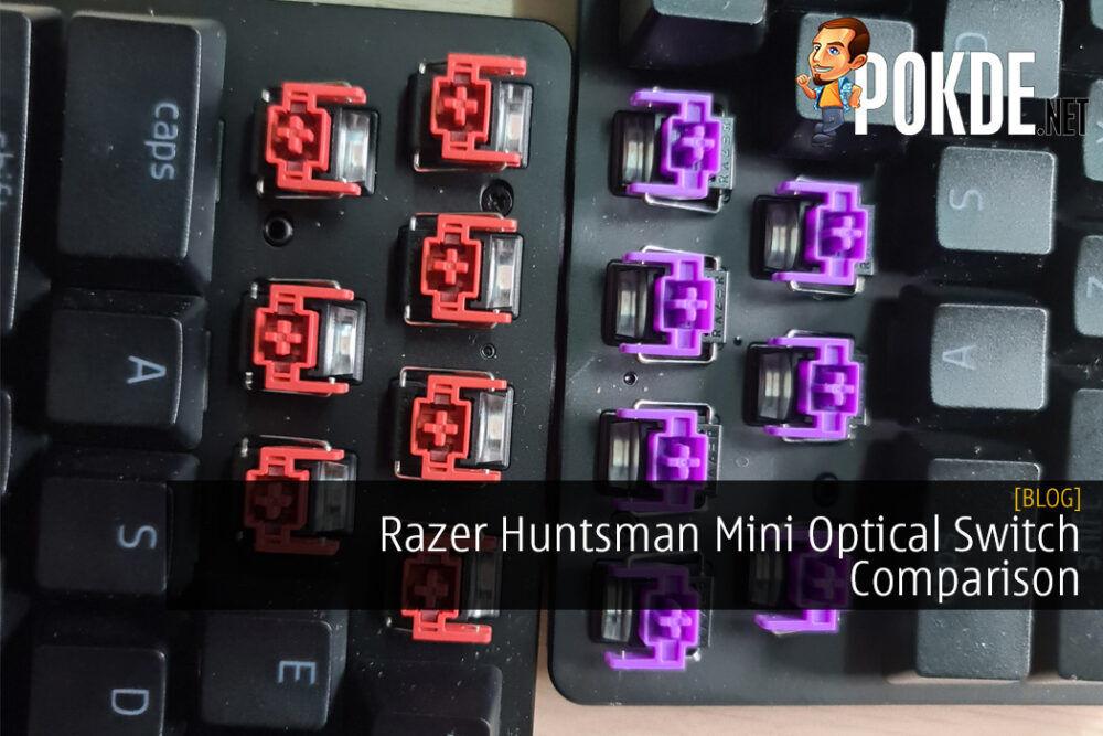 Razer Huntsman Mini Optical Switch Comparison 18
