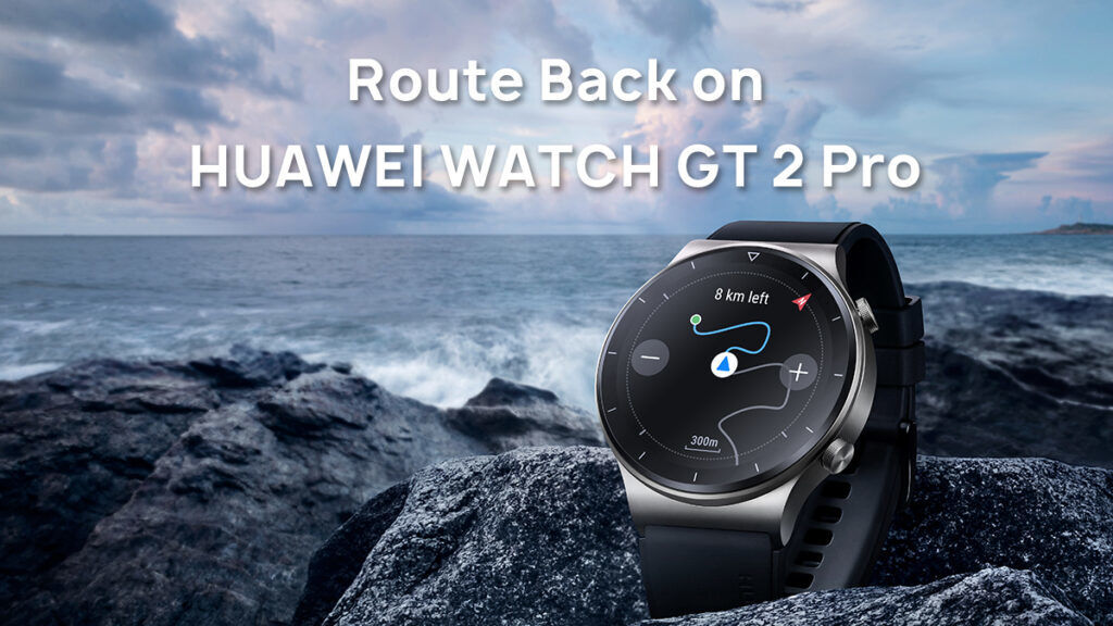 HUAWEI Watch GT 2 Pro Route Back Feature