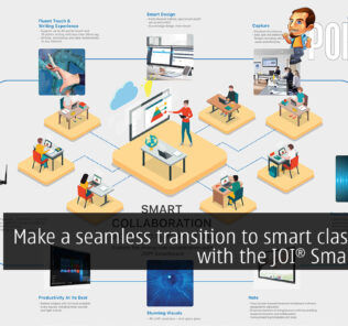 Make a seamless transition to smart classrooms with the JOI Smartboard 20