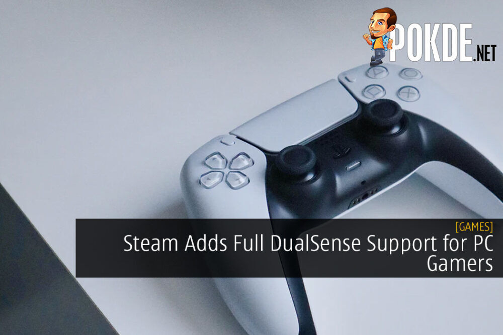 Steam Adds Full DualSense Support for PC Gamers