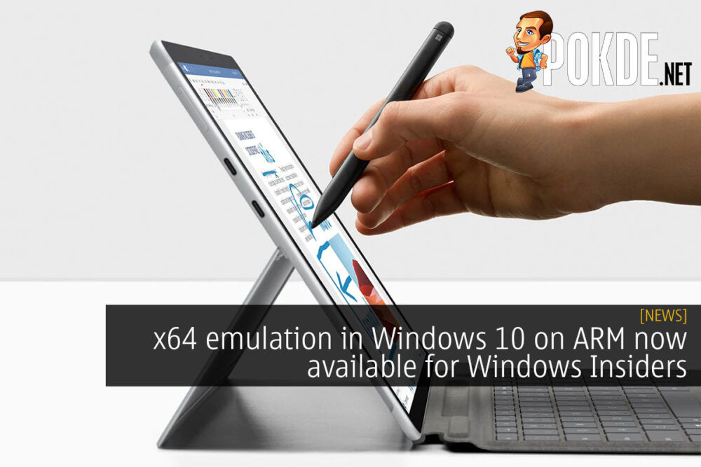 x64 emulation windows 10 arm cover
