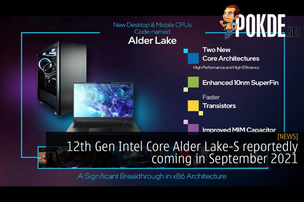 12th gen intel core alder lake-s cover