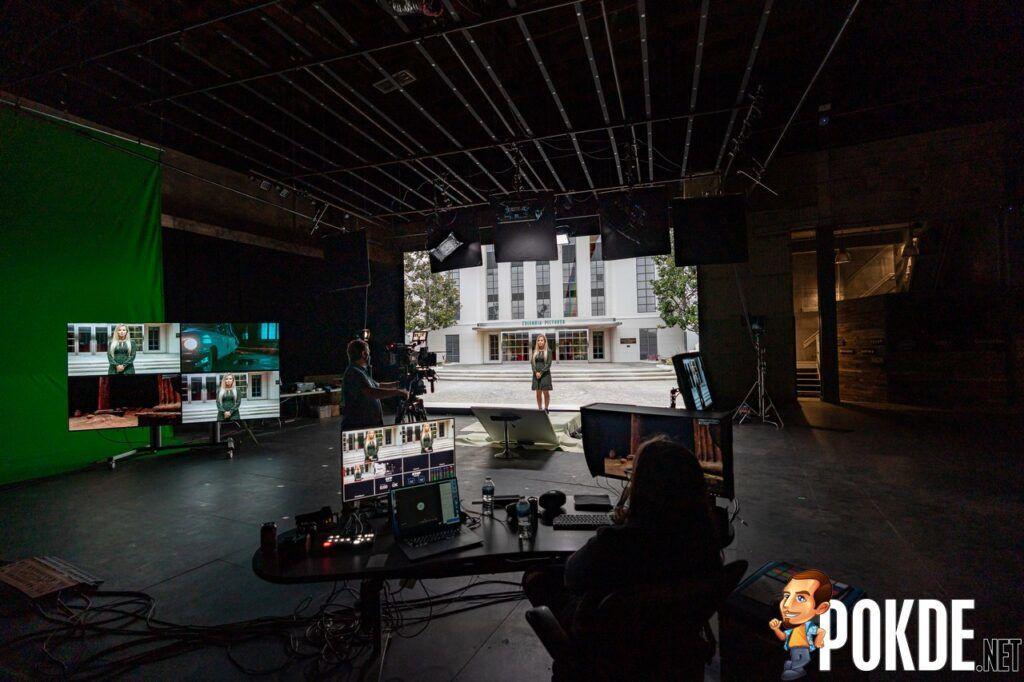 Virtual Production with Volumetric Real-World Capture