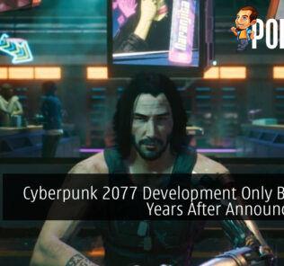 Cyberpunk 2077 Development Only Began 4 Years After Announcement
