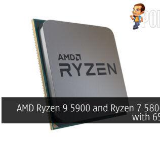 AMD Ryzen 9 5900 Ryzen 7 5800 65w cover