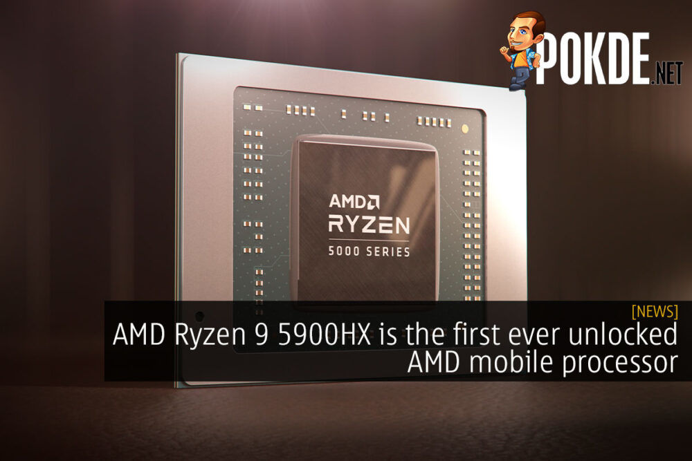 AMD Ryzen 9 5900HX Zen 3 cezanne cover