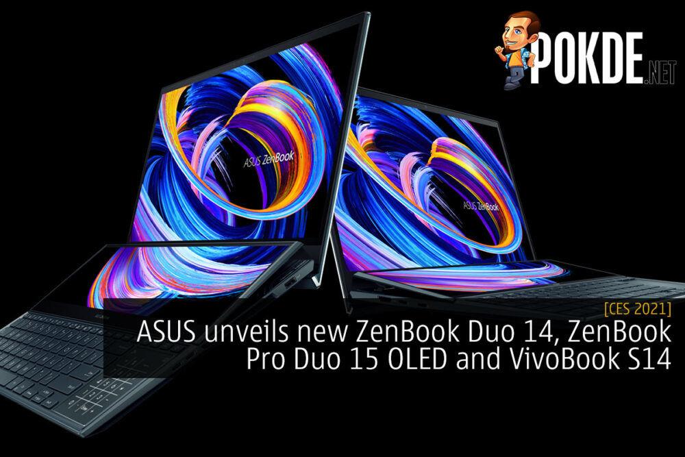 ASUS ZenBook Duo 14 ZenBook Pro Duo 15 cover