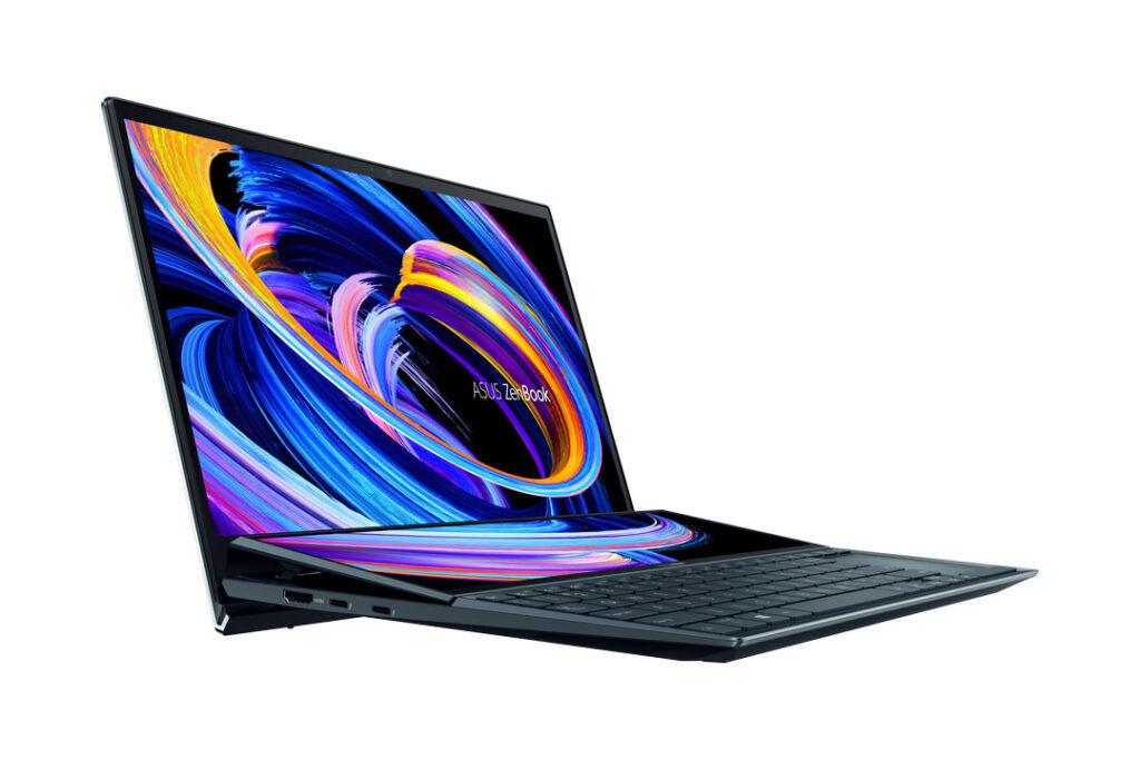 ASUS ZenBook Duo 14 ports