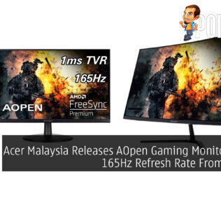 Acer Malaysia Releases AOpen Gaming Monitors With 165Hz Refresh Rate From RM599 24