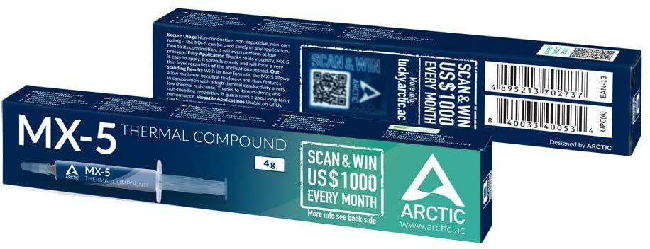 Arctic MX-5 box