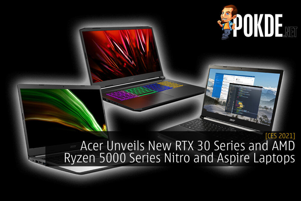 Acer Unveils New RTX 30 Series and AMD Ryzen 5000 Series Nitro and Aspire Laptops 24