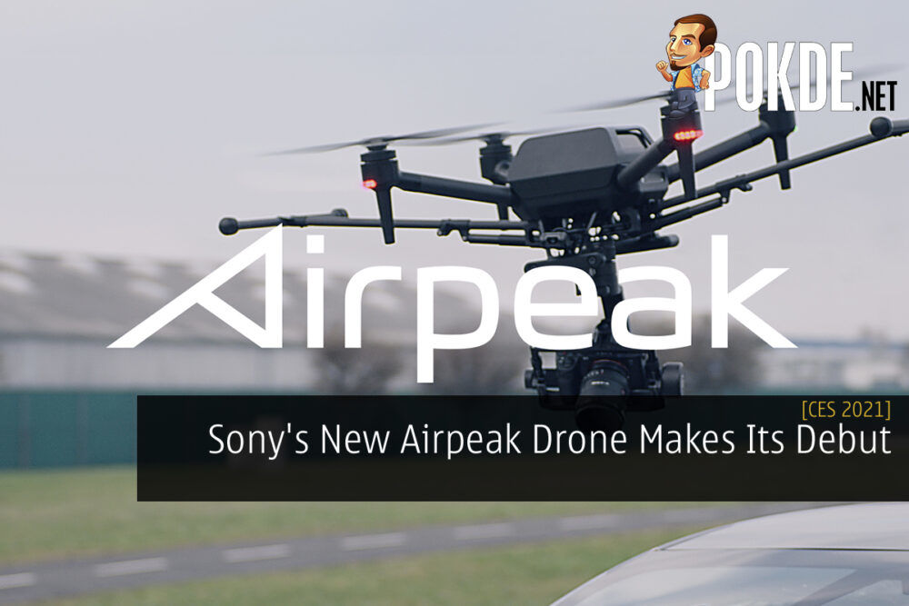 CES 2021 Sony Airpeak cover
