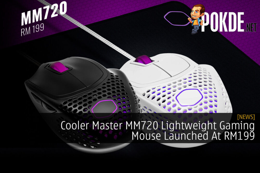 Cooler Master MM720 Lightweight Gaming Mouse Launched At RM199 20
