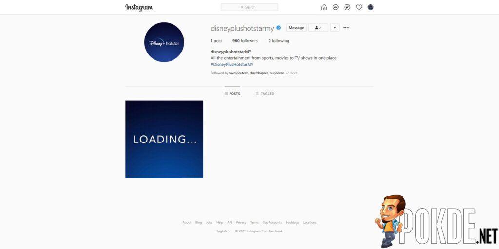 Disney+ Hotstar Malaysia Instagram