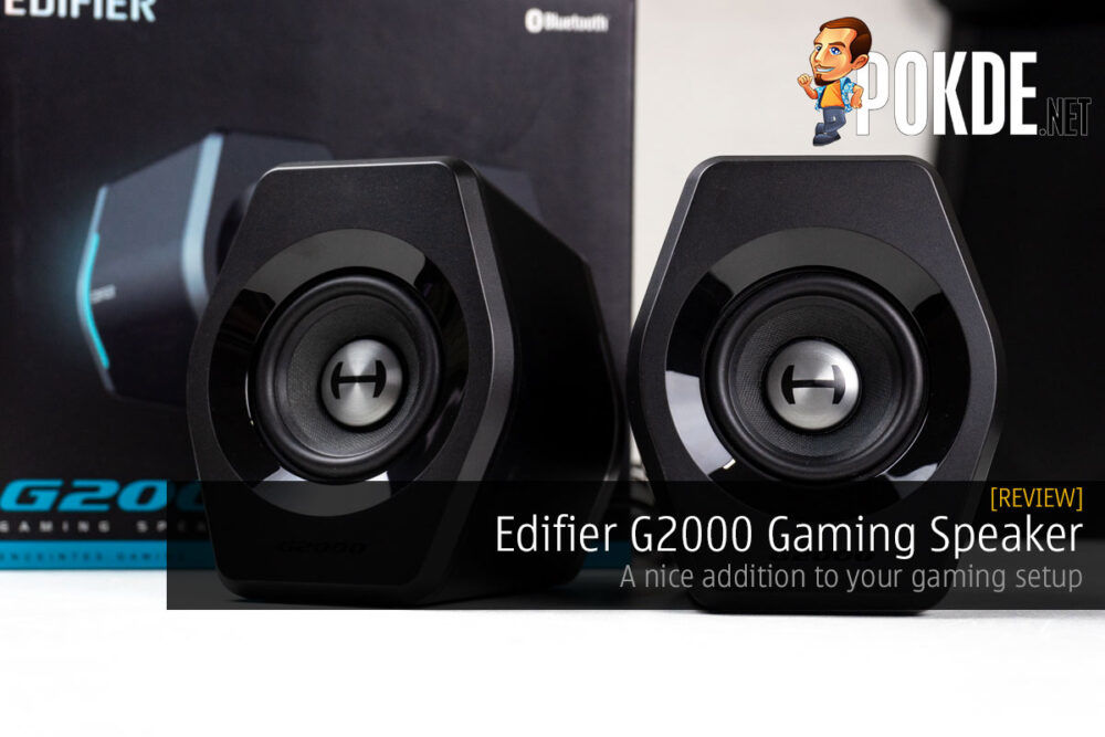 Edifier G2000 Gaming Speaker Review — a nice addition to your gaming setup 24