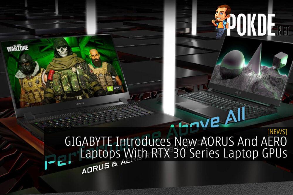 GIGABYTE AORUS AERO RTX 30 Series cover