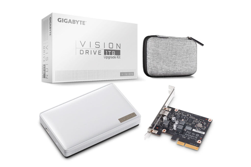 GIGABYGIGABYTE VISION DRIVE SSD 1TB Upgrade KitTE VISION DRIVE SSD 1TB Upgrade Kit