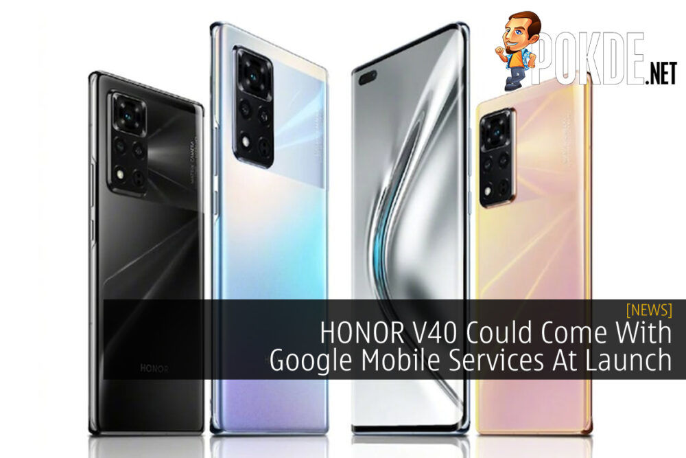 HONOR V40 Google Mobile Services cover