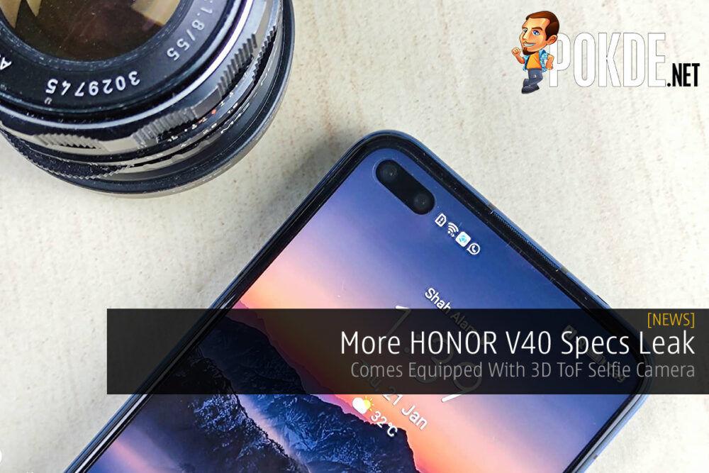 HONOR V40 Specs Leak Cover