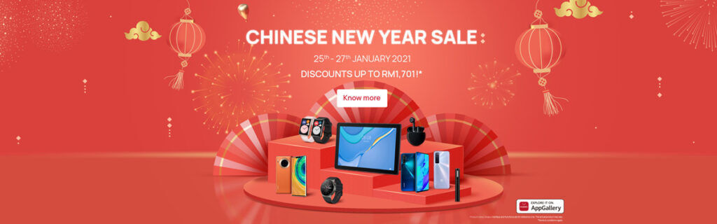 HUAWEI Malaysia Offers Products As Low As RM8 This Chinese New Year Sale 25