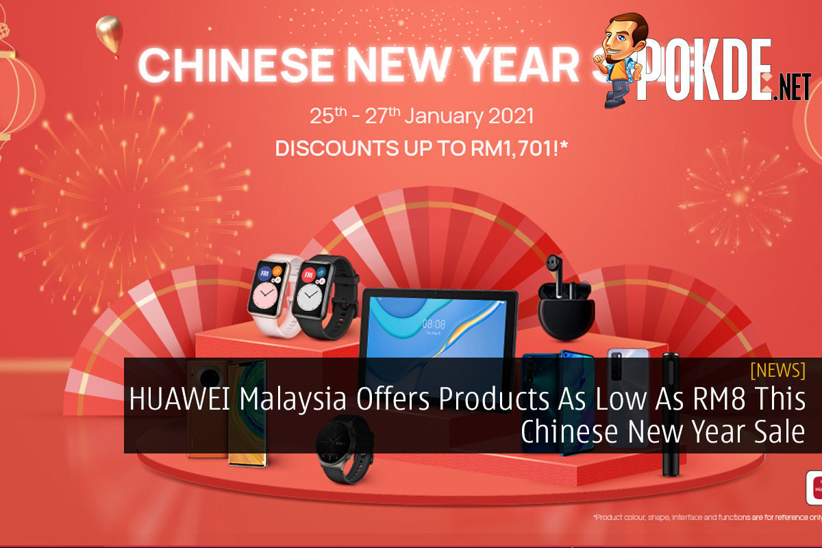 HUAWEI Malaysia Offers Products As Low As RM8 This Chinese New Year Sale 8