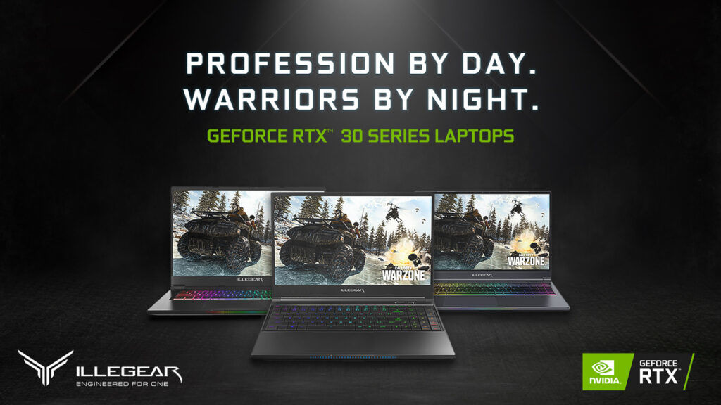 ILLEGEAR Unveils New Gaming Laptops With RTX 30 Series GPU And AMD 5000 Series CPU 24