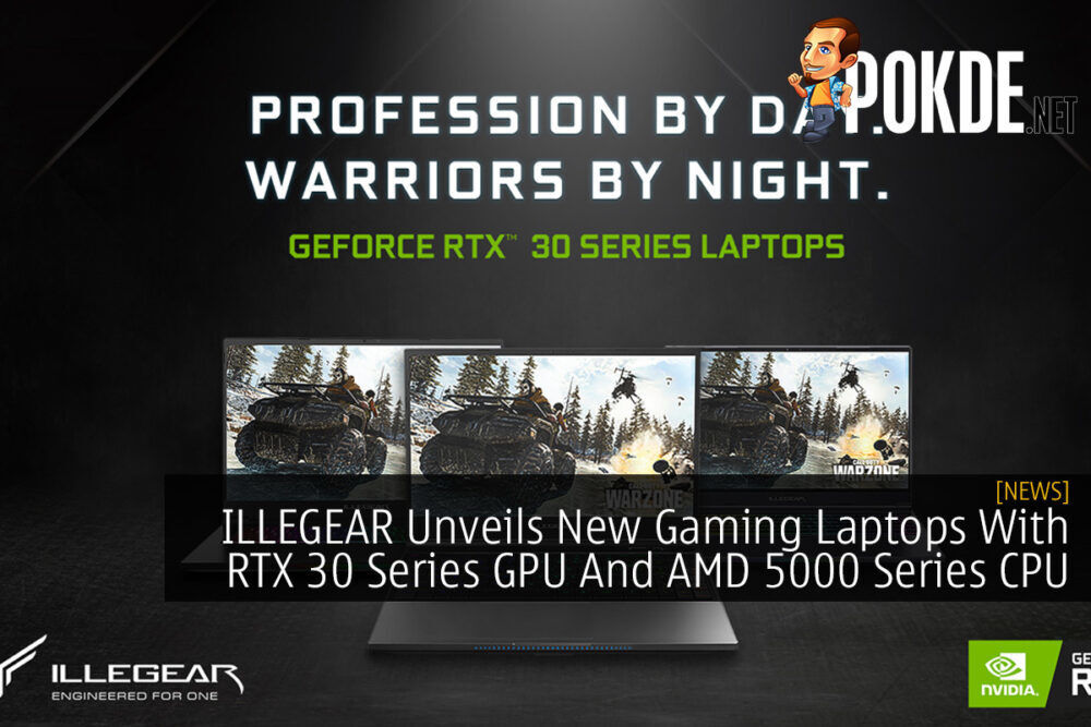 ILLEGEAR Unveils New Gaming Laptops With RTX 30 Series GPU And AMD 5000 Series CPU 23