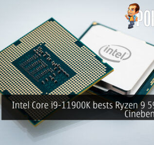 Intel Core i9-11900K cinebench r20 cover