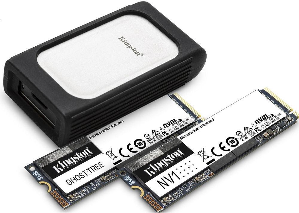 CES 2021: Kingston Unveils New NVMe SSD Lineup Plus Workflow Station 23