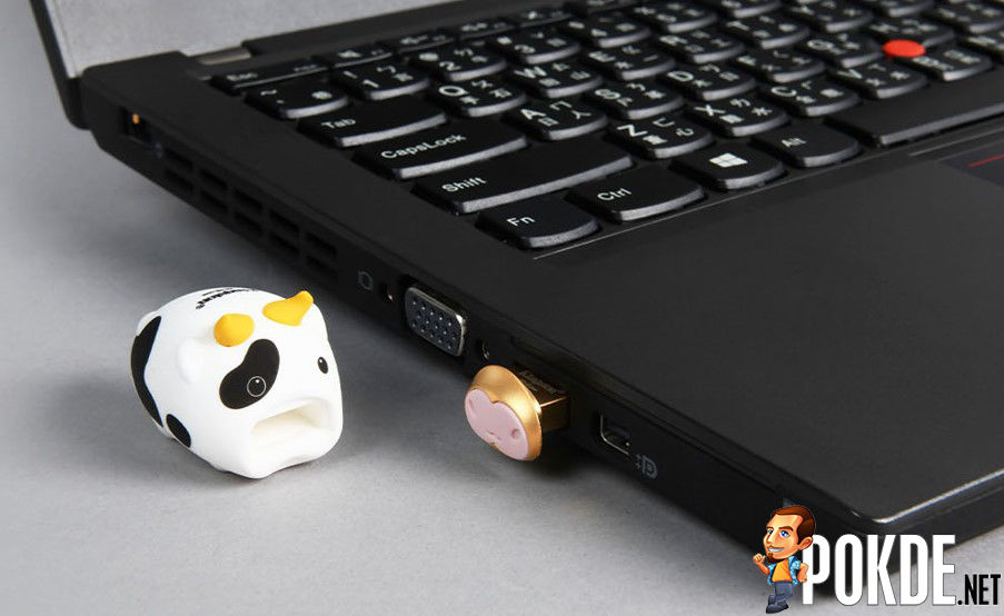Kingston Mini Cow USB Flash Drive Laptop