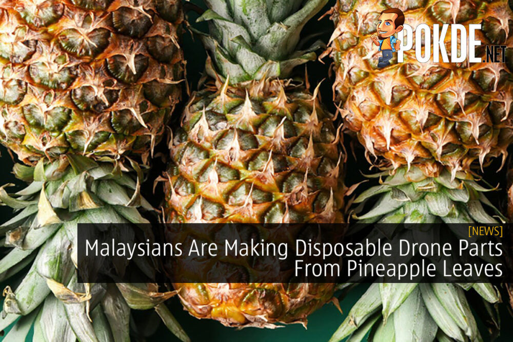 Malaysians Are Making Disposable Drone Parts From Pineapple Leaves 23