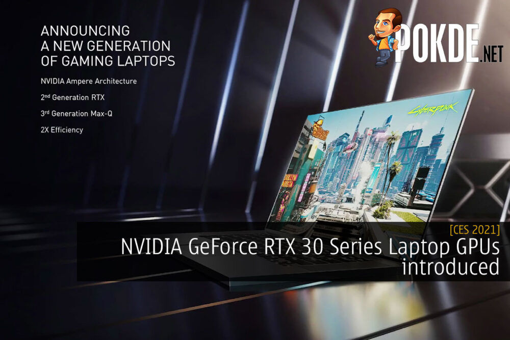 NVIDIA GeForce RTX 30 series laptop cover