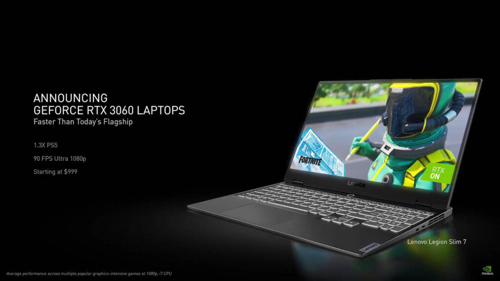 NVIDIA GeForce RTX 3060 laptops price
