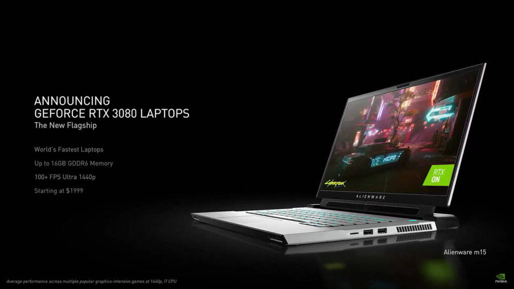 NVIDIA GeForce RTX 3080 laptops price