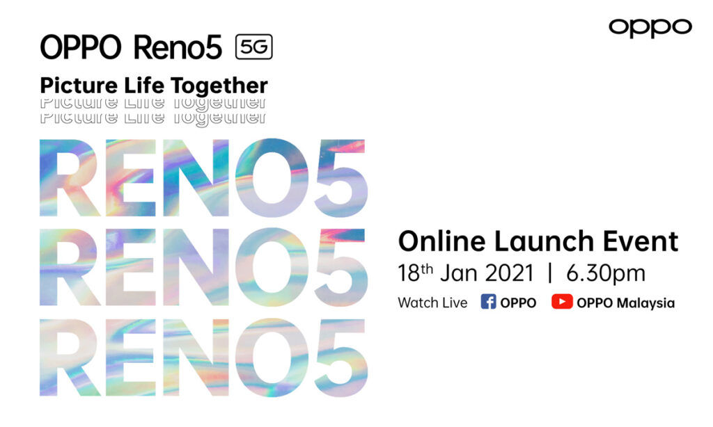 Win 15 Units Of OPPO Reno5 Simply By Catching The Online Launch 22