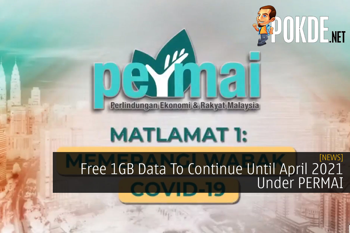 PERMAI Free 1gb data cover