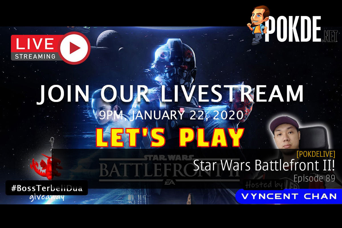 PokdeLIVE 89 — Star Wars Battlefront II! 7