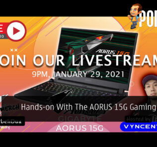 PokdeLIVE 90 — Hands-on With The AORUS 15G Gaming Laptop! 19