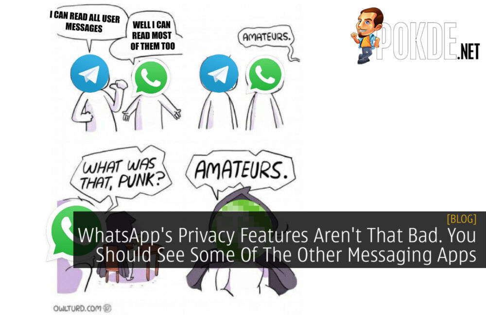 Privacy features messaging apps whatsapp cover 2
